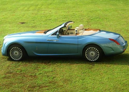 Pininfarina-designed 'Hyperion' Rolls Royce