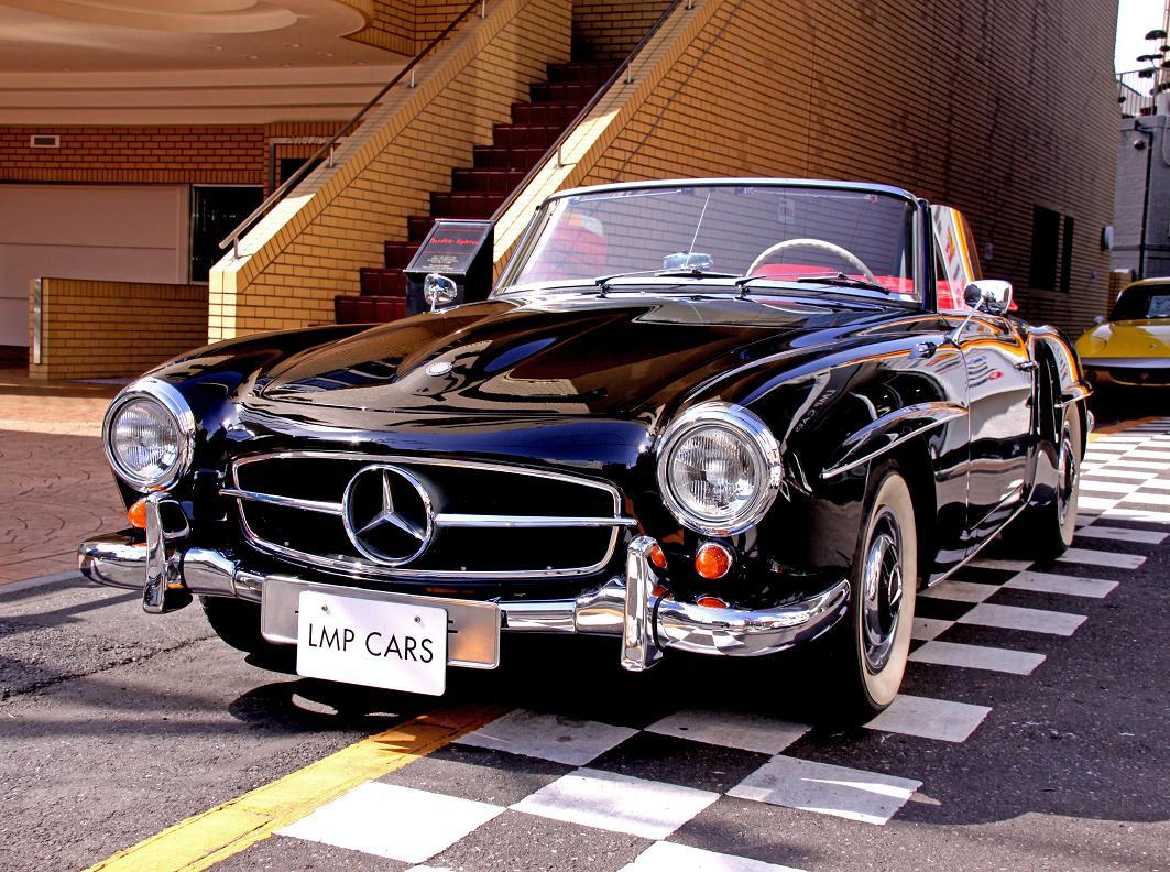 Mercedes benz lmp cars bmw for Mercedes benz retro