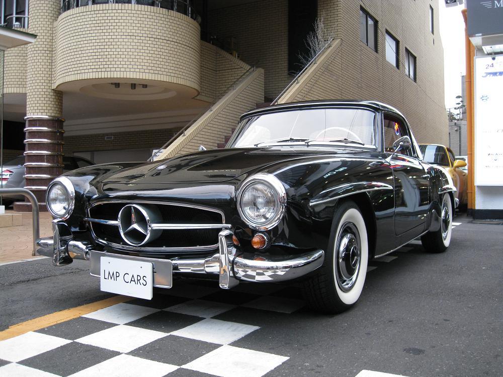 Mercedes benz 190sl lmp cars for Mercedes benz of warwick