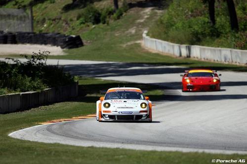 ALMS Road America PORSCHE 911 GT3RSR