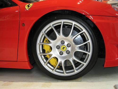 Fine attitude for Ferrari