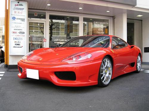 Fine attitude for Ferrari 360 modena