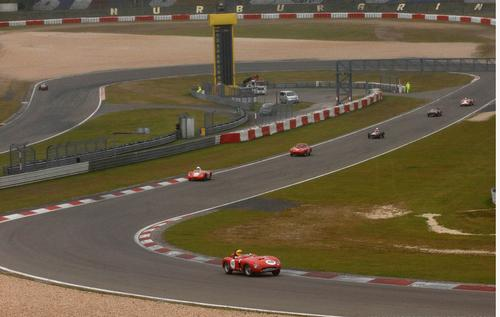 Ferrari Historic Challenge in Nurburgring